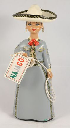 Imported direct from Mexico by Wandering Gypsy from the artists in Tonala. Mexican Crafts, Mexican Folk Art, Mexican People, Mexican Ceramics, Mexican Heritage, Mexican Dresses, Art Original, Doll Parts, Beauty Women