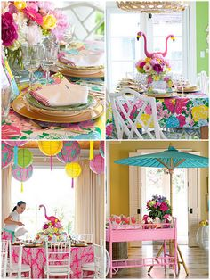 LIILLY PULITZER INSPIRED PARTY IDEAS