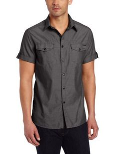 Kenneth Cole Mens Double Pocket Chambray Shirt, Black Combo, Medium Kenneth Cole,http://www.amazon.com/dp/B00BSN3PIC/ref=cm_sw_r_pi_dp_t-iNrb14FCE148A9