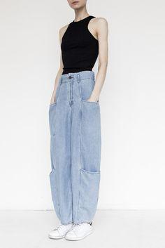 ******* Cotton Cargo Pants