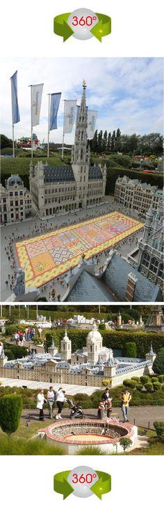 BELGIO/BELGIUM (Bruxelles) Europa in miniatura/Mini-Europe