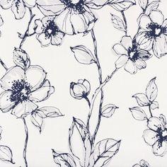 Avenzio 6 Vliestapete AS Creation 936744 93674-4 Blumen Struktur weiß blau  online bestellen