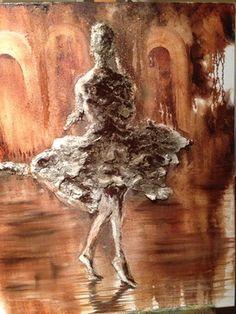 "Saatchi Art Artist Neil Sen; Painting, ""Solitary Dancer"" #art"