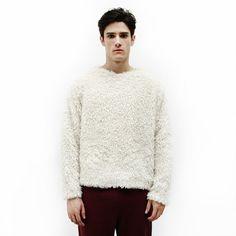 Fake fur sweater
