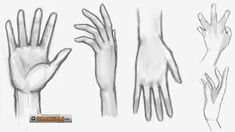 how to draw hand