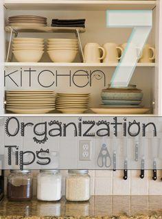 7 Kitchen Organization Tips