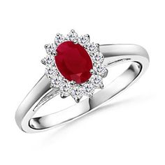 Ruby: We all are well aware that the color red is closely associated with love and no other gemstones displays this color best than a fiery red ruby.