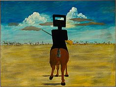 Sidney Nolan Ned Kelly 1946 National Gallery of Australia, Canberra Gift of Sunday Reed 1977