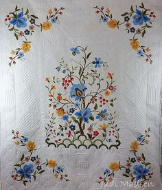 Tree of Life Quilt | Green Fairy Quilts | Bloglovin'