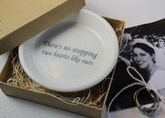 Ceramic Ring Holder   there's no stopping two by aphroditescanvas, $28.00