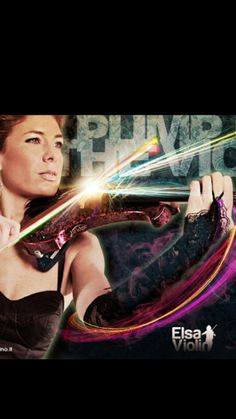 #electric #violin #elsa #thebridge #top violinist always playing in the #world loving #music