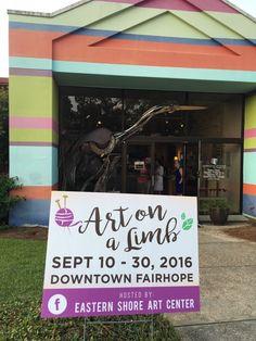See Fairhope's ART ON A LIMB Sept. 10 — 30