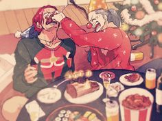 Shanks e Buggy❤ One Piece Ship, One Piece World, One Piece Comic, One Piece Fanart, One Piece Anime, One Piece Images, One Piece Pictures, Es Der Clown, Ahegao