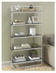 Just added! The Manhattan bookcase is perfect for a chic, city style space. We're in love!