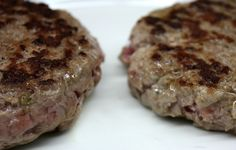 juicy beef patty for burger
