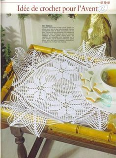 "Photo from album ""Elena Crochet D'Art on Yandex. Crochet Books, Crochet Art, Crochet Home, Love Crochet, Thread Crochet, Granny Square Crochet Pattern, Crochet Flower Patterns, Crochet Squares, Crochet Flowers"