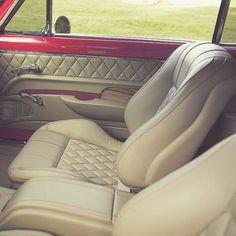 1963 Chevy Nova custom interior .. design concept adaptable to trucks