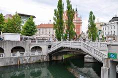 The Triple Bridge,Ljubljana, Slovenia