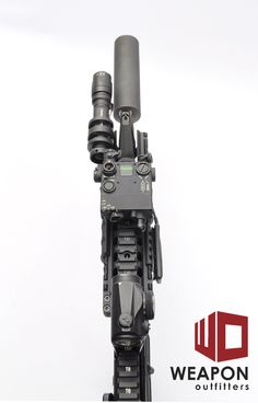 Laser Devices DBAL (Dual Beam Aiming Laser), version i2. Civilian legal IR laser.  Good to about 100 meters, quite practical for civilian and domestic LE use