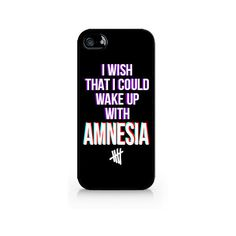 IPC-256 - I Wish That I Could Wake Up With AMNESIA - 5SOS - 5 Seconds... ($1.99) ❤ liked on Polyvore
