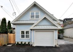 Small House - foundation built 500 sq ft with a garage & a unique layout. Very nice, smaller, but not tiny.