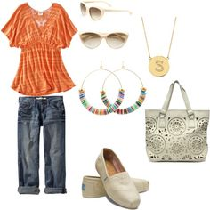 Saturday afternoon by cswope on Polyvore.....change the toms for something less hideous.