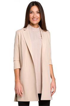 Ένας χώρος με ιδιαίτερα γυναικεία ρούχα και αξεσουάρ , με υψηλή ποιότητα και προσιτές τιμές.Έχουμε τα πιο στιλάτα είδη μόδας, μην ψάχνετε πουθενά αλλού, το Blush Greece είναι το δικό σας προσωπικό κατάστημα. Duster Coat, Beige, Blazer, Spandex, Jackets, Collection, Style, Products, Fashion