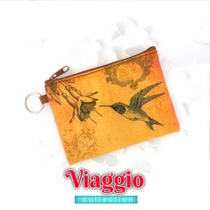 Hummingbird vintage print vegan coin purse from Viaggio collection by LAVISHY for wholesale to gift shops, clothing & fashion accessories boutiques, book stores in Canada, USA & worldwide. Online shopping at www.lavishy.ca Travel Accessories, Fashion Accessories, Gift Shops, Vegan Fashion, Boutiques, Vintage Prints, Hummingbird, Vegan Leather, Online Shopping