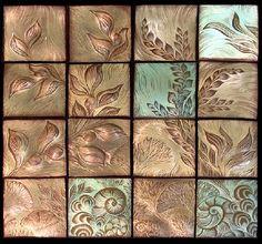 Ceramic tiles by Natalie Blake Studios