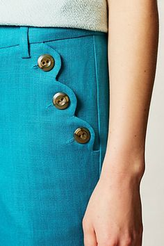 Linen Brighton Wide-Legs - anthropologie.com