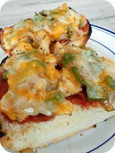 Chicken Fajita Melts - perfect quick meal - dvo.com