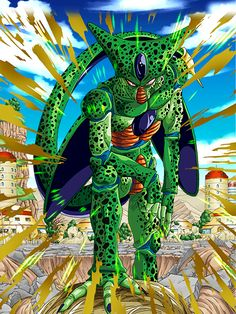 """[Android Evolution] Cell (1st Form) """"Heh...another dead daredevil."""""""