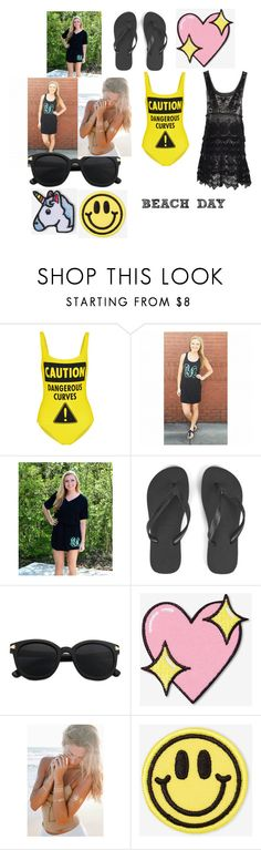 """""""READY FOR THE SUMMER?"""" by nicholesbrokenheart on Polyvore featuring Moschino, Havaianas, Big Bud Press and Hipstapatch"""