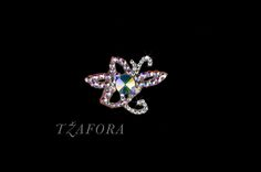 Ballroom accessories and ballroom jewelry made with Swarovski, available at www.tzafora.com © 2014 Tzafora