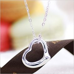 Rakuten: Heart necklace Cem Kelly open heart necklace pendant-necklace-[the jewelry which wants to put on in summer]- Shopping Japanese products from Japan
