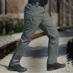 IX9 Militar Tactical Cargo Men Casual Pants. Pantalones De Senderismo f72cbf51a5a