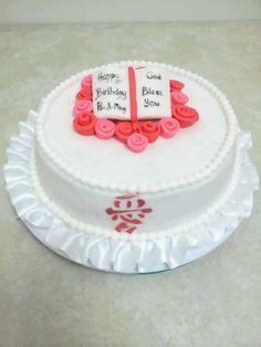 Chinese b'day cake