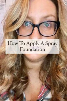How To Use A Spray Foundation #sprayfoundation #kabukibrush #makeupfoundation #makeupforbeginners #hooded Spray Foundation, Best Foundation, Makeup Foundation, Makeup For Beginners, Natural Makeup, Makeup Ideas, Makeup Looks, Eye Makeup, Eyeshadow