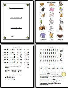 Animals Activity Book 2