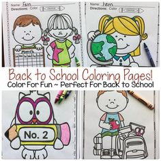 fun school coloring pages - photo#41