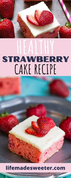 This amazing strawberry cake recipe is perfect for summer parties! It's light, fluffy, and tastes absolutely delicious.