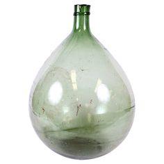 Vintage Ghent Demijohn Bottle//