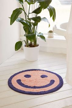 BAGGU & UO Happy Bath Mat - Urban Outfitters