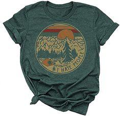 Cotton T-Shirt,Exotic Summer Nature Fashion Personality Customization