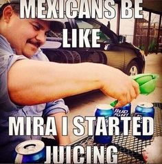 stereotypes and racist humor - LOL funny memes Funny Cute, Funny Shit, The Funny, Funny Jokes, Funny Stuff, Funny Things, That's Hilarious, Mexican Words, Mexicans Be Like