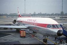 Sterling Airways Sud Aviation SE-210 Caravelle 10B3 Super B OY-STM at Copenhagen-Kastrup, April 1990. (Photo: Peter Smithson)