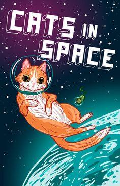 Jasper dreams of ...cats in space