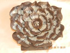 Chocolate Flower Sculpture
