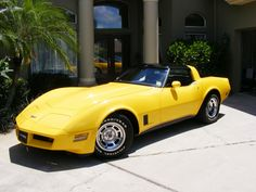 1980 Corvette stingray t top. Best car ever