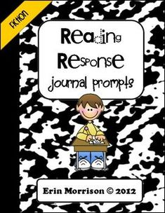 Cut & Paste Reading Response Journal Prompts- an easy way to encourage your students to think within, about, and beyond the text! Includes prompts for fiction and non-fiction books.